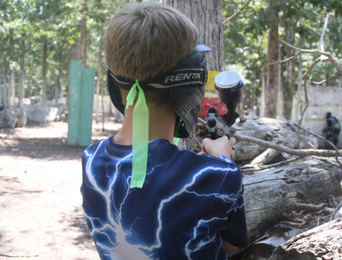 young kid playing paintball in charlotte nc