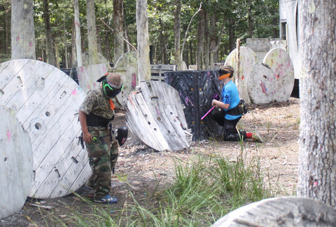 spools paintball game at boss paintball in albemarle nc