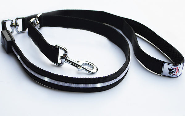 Black K9Leads Safety Leash