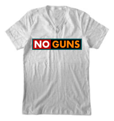 """NO GUNS"" V-NECK"