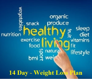 Photo with healthy words emphasizing healthy living