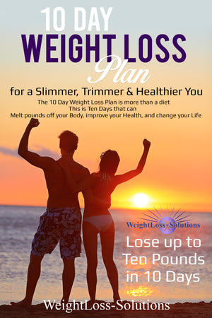 Weightloss-Solutions 10 Day Weight Loss Plan Book Cover