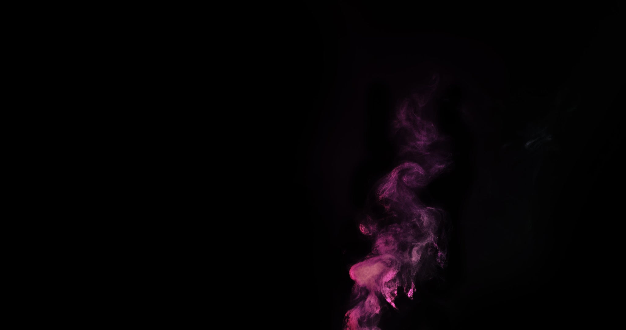 Black Background with Purple Smoke