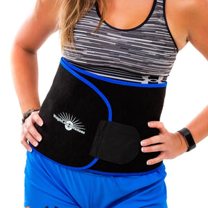 Waist Trimmer Bundle with Medium Sauna Belt