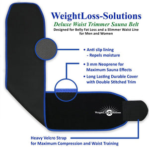 Waist Trimmer </br>Sauna Belt </br>(Medium Size)</br><ul><li>Burn Belly Fat Fast</li><li>Comfortable, Contoured Fit</li><li>Waist Trainer Compression</li></ul>