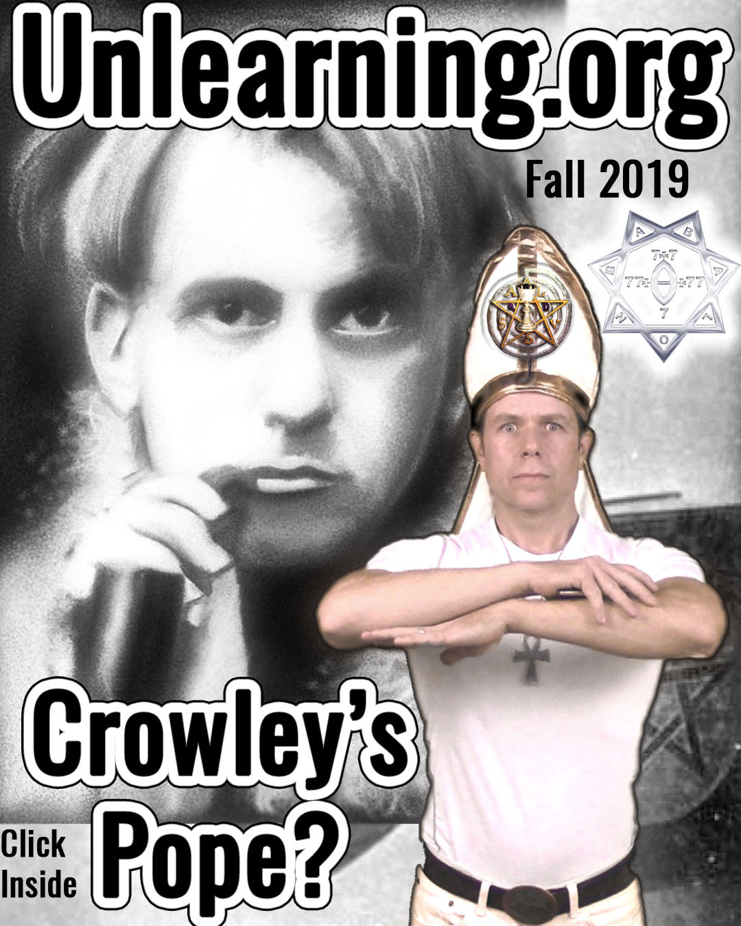 Pope RAW II Pays Tribute to Aleister Crowley