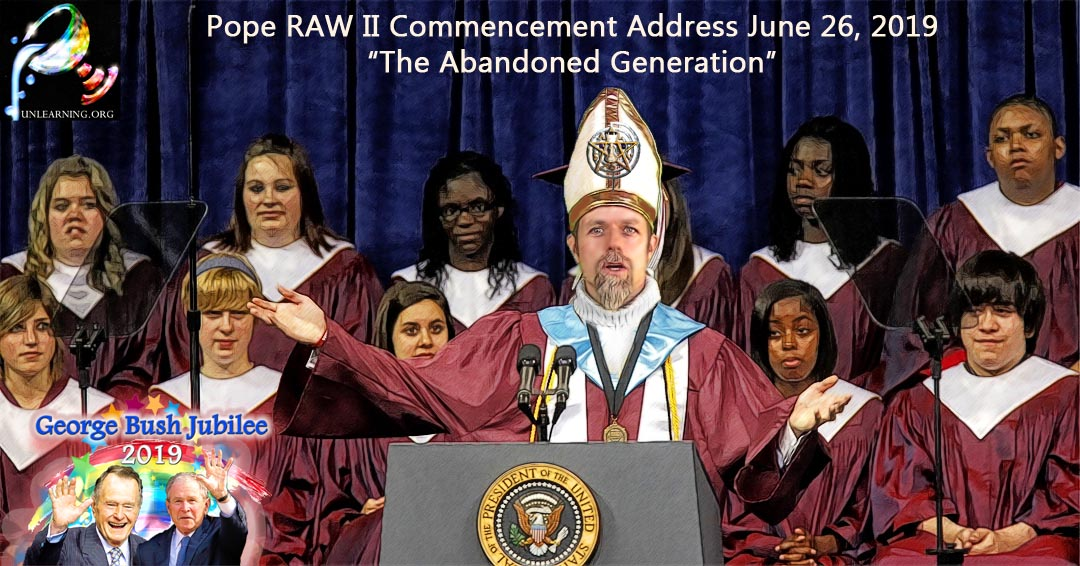 Pope RAW II Delivers Commencement Address to the Class of 2019