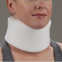 "DeRoyal Hospital Grade Cervical Collar * Med Foam Poly Cvr 4""x21"" M * 1 Per EA STAT ™ Brand 1063-03"