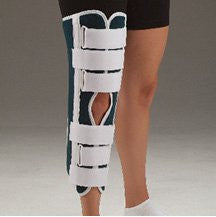DeRoyal Hospital Grade Knee Immobilizer, 24IN * Cool Blue, S * 1 Per EA STAT ™ Brand 4463-02