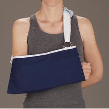DeRoyal Hospital Grade Arm Sling * Navy Blue, w/Pad, Child * 1 Per EA STAT ™ Brand 8020-01 - Home Health Superstore