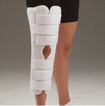 DeRoyal Hospital Grade Knee Immobilizer, 12IN * Superlite, Straight, S * 1 Per EA STAT ™ Brand 7001-01 - Home Health Superstore