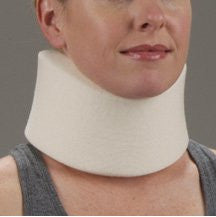 "DeRoyal Hospital Grade Cervical Collar * Med Foam 3.5""x16"" XS * 1 Per EA STAT ™ Brand 1010351"