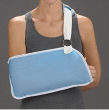 DeRoyal Hospital Grade Arm Sling * Light Blue, Foam Pad, M * 1 Per EA STAT ™ Brand 10104