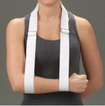 DeRoyal Hospital Grade Arm Strap * White, Vinyl Pad, M * 1 Per EA STAT ™ Brand 8006-03 - Home Health Superstore