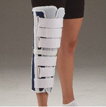 DeRoyal Hospital Grade Knee Immobilizer, Tri-Panel * 16IN, Canvas * 1 Per EA STAT ™ Brand 1160917 - Home Health Superstore