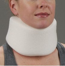 "DeRoyal Hospital Grade Cervical Collar * Soft Foam, 3.5""x20.5"", 6/cs, S * 6 Per CA STAT ™ Brand 1018-02"
