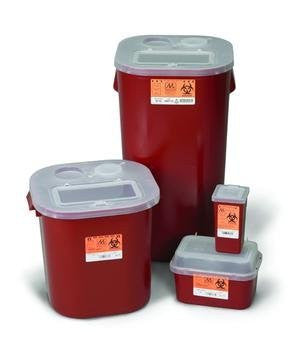 Sharps Cntnr 1 Qt Stackable - Home Health Superstore