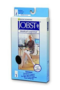 >Opq kn md slky bge 15-20. Opaque Knee High Stockings, 15 - 20 mmHg