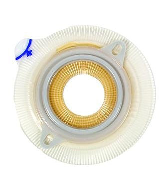 >Assura xwear adh c-cut 1.5in. Assura?? Non-Convex Extra Extended Wear Skin Barrier Flange with Belt Loops