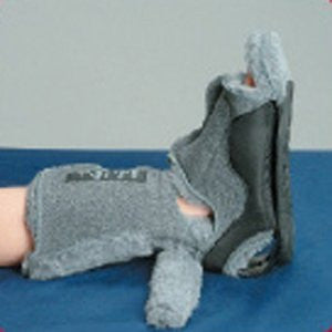 DeRoyal Hospital Grade Ankle Contracture Boot * Fleece, V-Cut w/ Sole, L * 1 Per EA PatientCare ™ Brand 4308D - Home Health Superstore