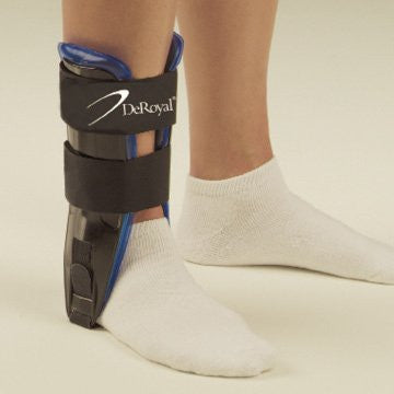 DeRoyal Hospital Grade Ankle Stirrup, Air/Gel * 10IN, standard * 1 Per EA Three-D ™ Brand A152000 - Home Health Superstore