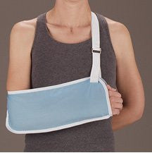 DeRoyal Hospital Grade Arm Sling * Light Blue, 12/cs, S * 12 Per BX STAT ™ Brand 8017-01 - Home Health Superstore