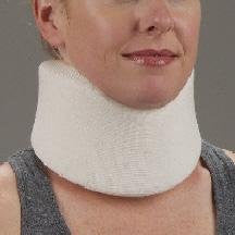 "DeRoyal Hospital Grade Cervical Collar * Med/Firm Foam 3.5""x16"" S * 1 Per EA STAT ™ Brand 1050-21"