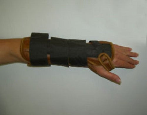 "DeRoyal Hospital Grade Wrist/Forearm Splint, Lthret * 11"" Hook & Loop Closure Right S * 1 Per EA STAT ™ Brand 5001-02"