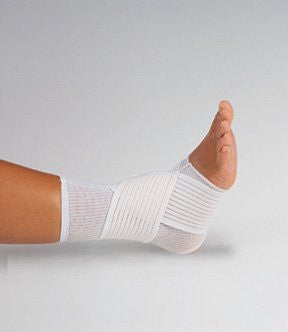 DeRoyal Hospital Grade Ankle Support * Elastic, Figure 8 Strap, M * 1 Per EA Three-D ™ Brand 4016-02 - Home Health Superstore