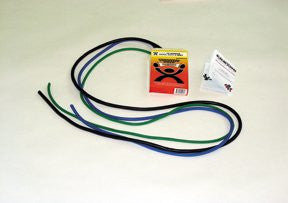 Cando Exercise Tubing PEP Pack - Moderate - Green, Blue, Black, Item- 10-5382