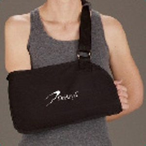 DeRoyal Hospital Grade Arm Sling, Specialty * Black, w/ Pad, XL * 1 Per EA STAT ™ Brand 11690008 - Home Health Superstore