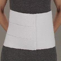 DeRoyal Hospital Grade Abdominal Binder, 12IN * 4-Panel, 30-45IN, S/M * 1 Per EA STAT ™ Brand 13981000 - Home Health Superstore