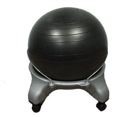 Cando Ball Chair - Plastic - Mobile - No Back, Item- 30-1796
