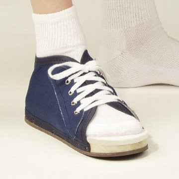 DeRoyal Hospital Grade Post-Op Shoe, Navy Canvas * Wood, Lace-Up, Male, M * 1 Per EA STAT ™ Brand 2020-02 - Home Health Superstore