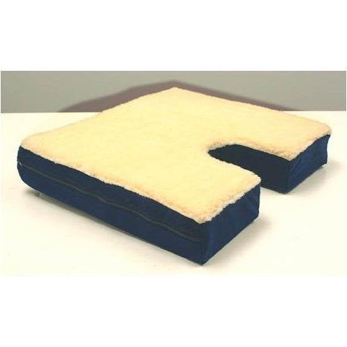 Coccyx Cutout, Gel, Fleece Top Cushion - Home Health Superstore