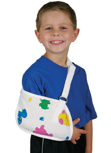 Deroyal Hospital Grade Arm Sling, Specialty * Dino, w/ Pad, Child * 1 Per Ea Stat Brand 11690002
