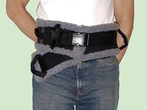 "SafetySure Transfer Belt Sheepskin Lined Large 42"" -60"""