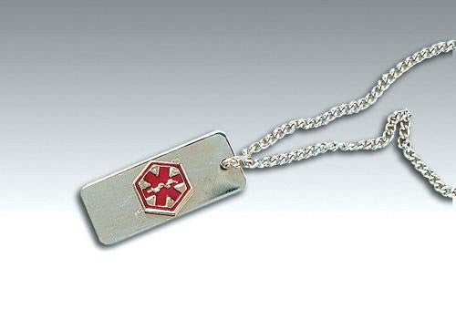 Medical Identification Jewelry-Necklace- Blank