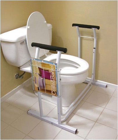 Toilet/Commode Safety Rail