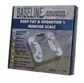 Baseline Scale - Weight, Body Fat and Hydration (tempered glass)