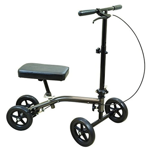 Roscoe Economy Knee Scooter -Sterling Grey