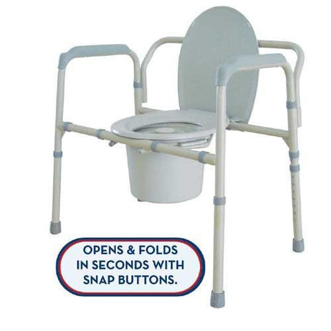 Oversized Commode 650 Lb Capacity - Home Health Superstore
