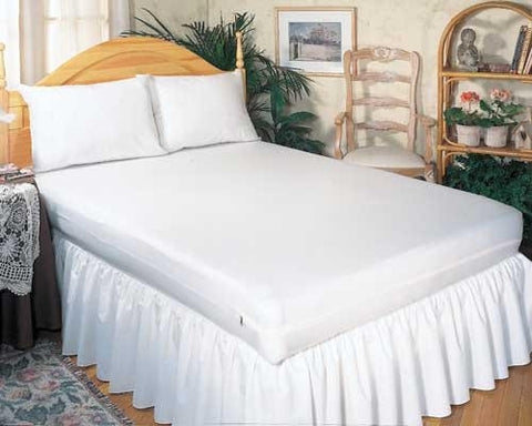 "Mattress Cover Allergy Relief Calif King-size 72""x84""x9"" Zip"