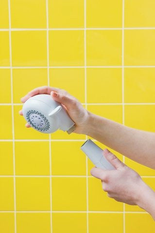 `Moen Hand-Held Shower Head w/Palm Feature