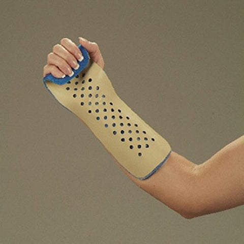 DeRoyal Hospital Grade Colles Splint * Alumimun w/ Foam Left Youth * 1 Per EA STAT ™ Brand 9105-05 - Home Health Superstore