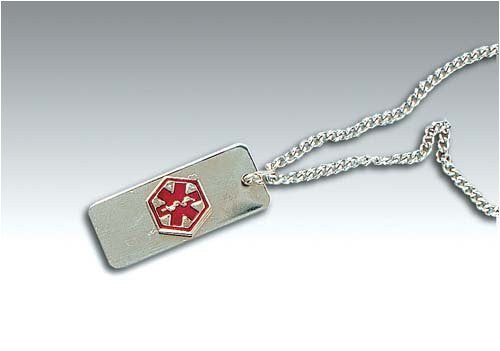 Medical Identification Jewelry-Necklace- Diabetic