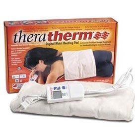 "Moist Heating Pads - TheraTherm - Digital - Rectangular Blanket - 7"" x 15"" - Home Health Superstore"