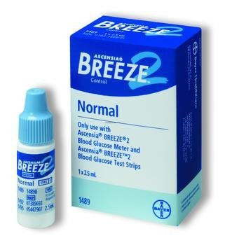 >Breeze 2 cntrl sol normal. Bayer's BREEZE??2 Normal Control Solution