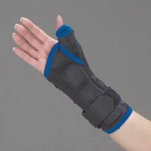 "DeRoyal Hospital Grade Wrist & Thumb Splint * 8"", Tritex, Right, M * 1 Per EA STAT ™ Brand 350MR - Home Health Superstore"