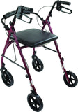 Free2Go Rollator with Toilet Seat, 8-inch Wheels